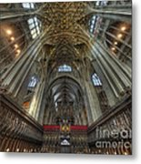 Gloucester Cathedral 2.0 Metal Print