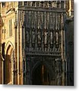 Gloucester Cathedral Entrance Metal Print