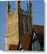 Gloucester Cathedral Spire Metal Print