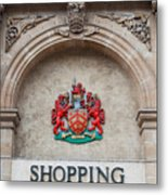 Gloucester Coat Of Arms Metal Print