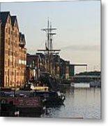 Gloucester Docks 1 Metal Print