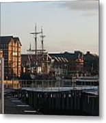Gloucester Docks 3 Metal Print