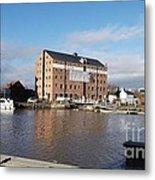Gloucester Historic Docks 3 Metal Print
