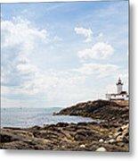Gloucester Lighthouse Metal Print
