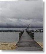 Gloucester Point Pier Metal Print