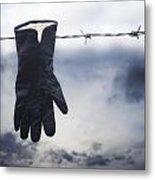 Glove Metal Print
