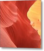 Glow Under The Desert Floor Metal Print