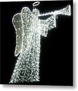 Glowing Angel Metal Print