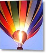 Glowing Balloon Metal Print