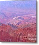 Glowing Colors Of The Grand Canyon Metal Print