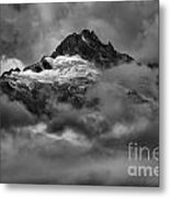 Glowing Glaciers In The Tantalus Range Metal Print