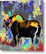 Electric Moose Metal Print
