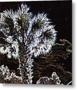 Glowing Palm Metal Print