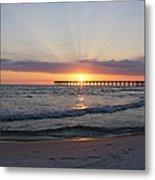 Glowing Sunset Metal Print by Sandy Keeton