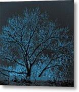 Glowing Tree Metal Print