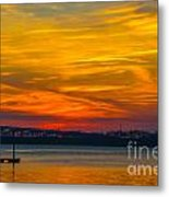Glowing With Color Metal Print