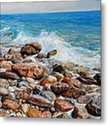 Glyfada Greece Metal Print