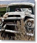 G M Old Pickup Metal Print