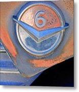 Gmc 4000 V6 Pickup Truck Emblem Metal Print