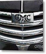 Gmc Truck Emblem Metal Print
