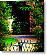 Go And Smell The Roses Metal Print