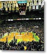 Go Celtics Metal Print by David Schneider
