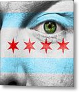 Go Chicago Metal Print by Semmick Photo