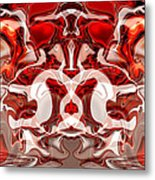 Go Cougs Metal Print