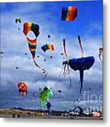 Go Fly A Kite 4 Metal Print