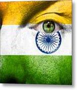 Go India Metal Print