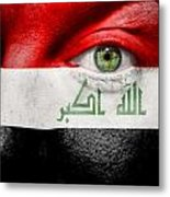 Go Iraq Metal Print