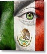 Go Mexico Metal Print
