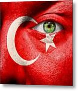Go Turkey Metal Print