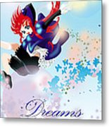 Go Up To Your Dream Metal Print by Racquel Delos Santos