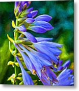 Go With The Flow - Paint Metal Print
