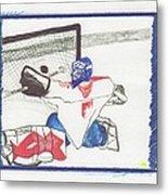 Goalie By Jrr Metal Print