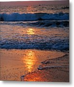 Goan Sunset. India Metal Print
