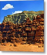 Goblin Valley Pano Metal Print