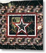 God Bless America Metal Print by Sherry Flaker