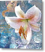 God Is Still In Control Metal Print by Beverly Guilliams