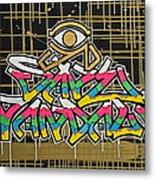 God Save Vandals Metal Print