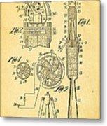Goddard Rocket Apparatus Patent Art 1914 Metal Print