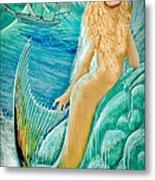 Goddess Atargatis 1000 Bc Metal Print