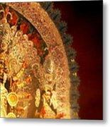 Goddess Durga Metal Print by Prajakta P