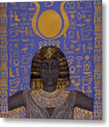 Goddess Isis Metal Print by Diana Perfect