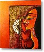 Goddess Of Creation Metal Print