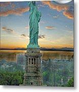Goddess Of Freedom Metal Print by Gary Keesler