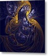 Goddess Of Healing Energy Metal Print