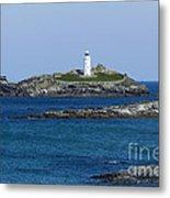 Photographs Of Cornwall Godrevy Lighthouse Metal Print