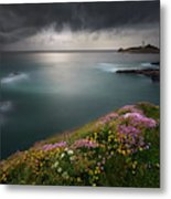 Godrevy Point... Metal Print